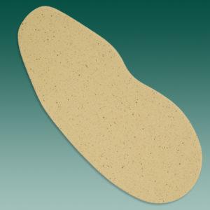 Bettungskork ganzsohlig 5 mm