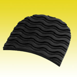 Absatzfleck Wellenprofil 8 mm Damen
