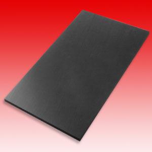 Aufbauplatte schwarz 210 x 350