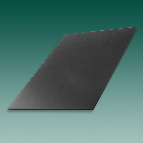 Sohlenversteifungsmaterial, Platte, schwarz