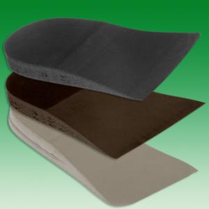 Keilstücke 20 mm  schwarz