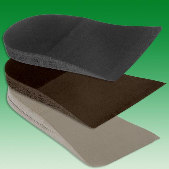 Keilstücke 24 mm  schwarz