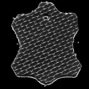 Ziegel schwarz-silber